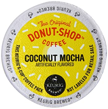 Keurig The Original Donut Shop Coconut Mocha KCup Packs 30