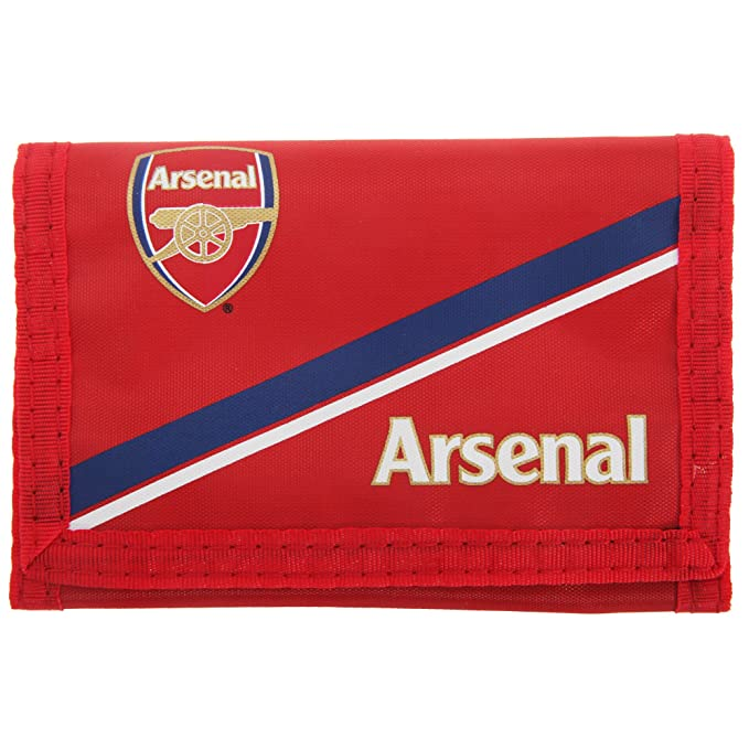 Arsenal FC - Billetera/ Monedero/ Cartera Roja de tela con ...