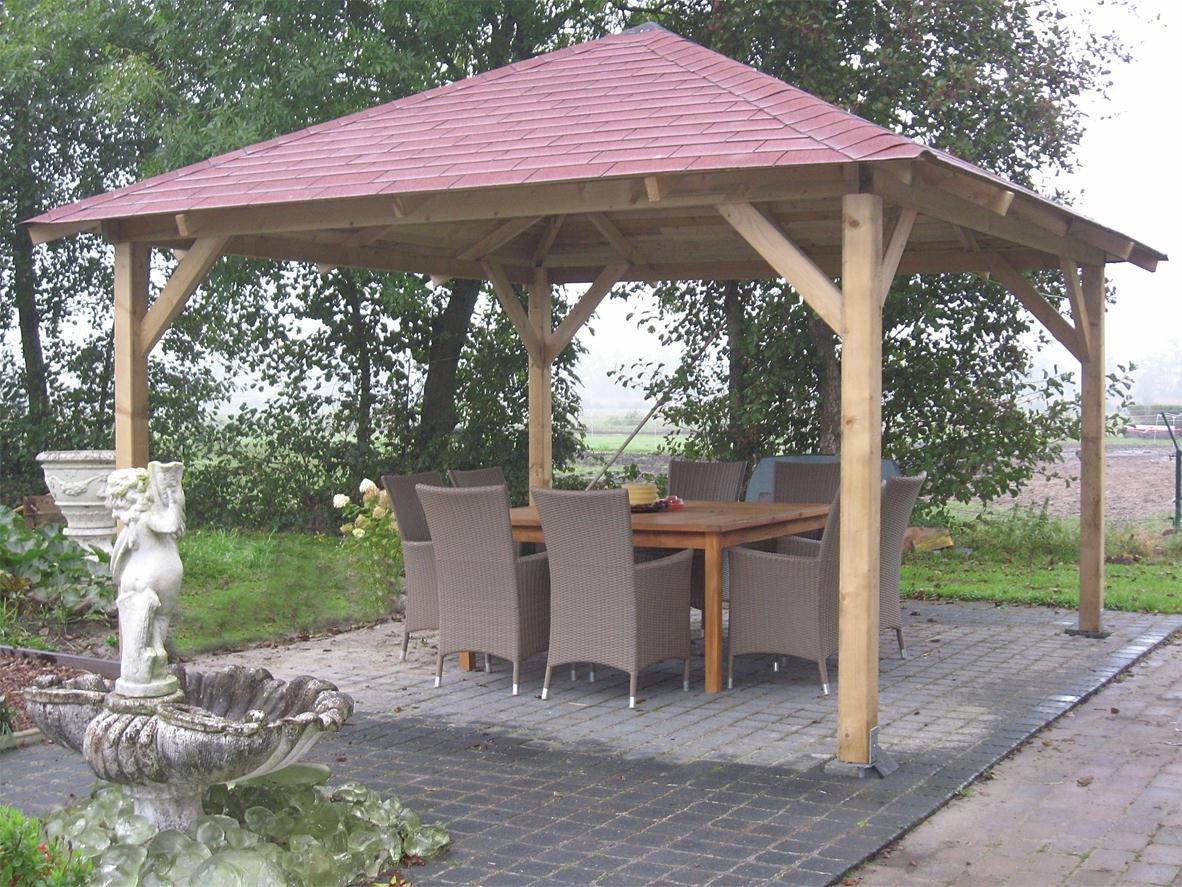 Pergola In Tuin : Tuin classic open gazebo m m amazon garden