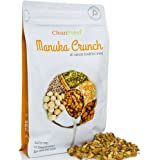 CleanPaleo Manuka Crunch Paleo Breakfast Cereal Blend (Grain Free, Gluten Free) Certified Paleo (350g) 7x 50g Servings Healthy Crunch & Crunchy Low Carb Snack