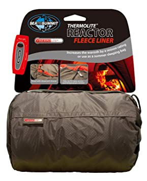 Sea to Summit - Reactor Fleece Liner Thermolite Hood, Color Grey: Amazon.es: Deportes y aire libre