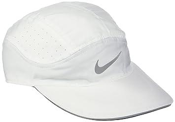 Nike W Nk Arobill TW Elite Gorra, Mujer, Blanco (White/Cool Grey), Talla Única: Amazon.es: Deportes y aire libre