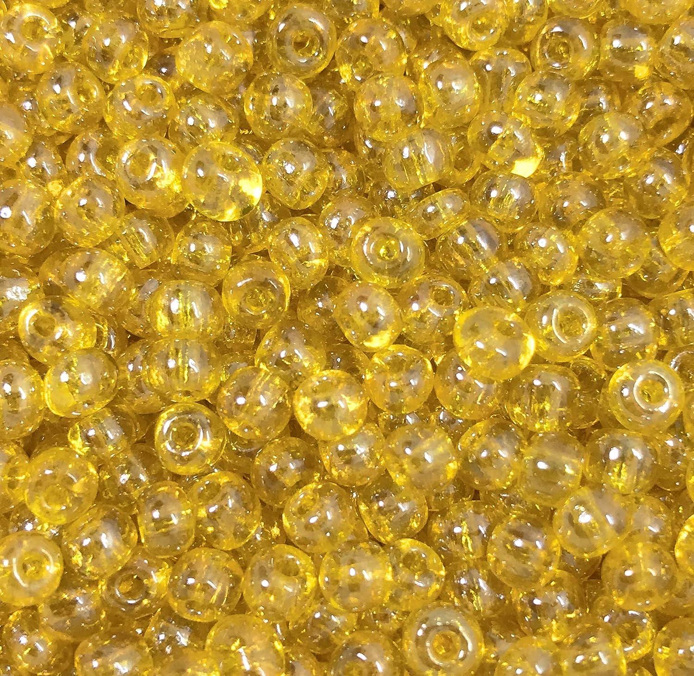 Jablonex Czech Glass Seed Beads Size 6//0 Amethyst S//L SolGel, 6//0 1 Ounce