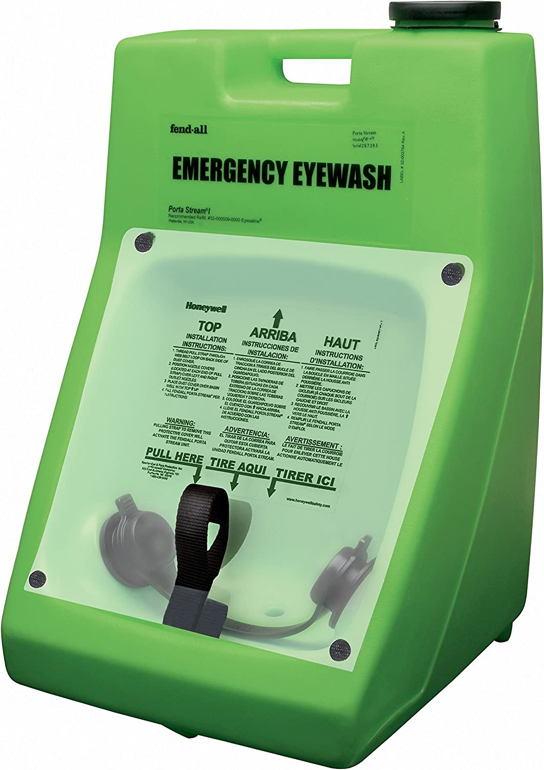 Honeywell Emergency Eye Wash Station Expiration Timer