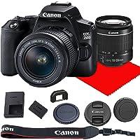 Canon EOS 250D / Rebel SL3 DSLR Camera w/ 18-55mm F/3.5-5.6 III Lens
