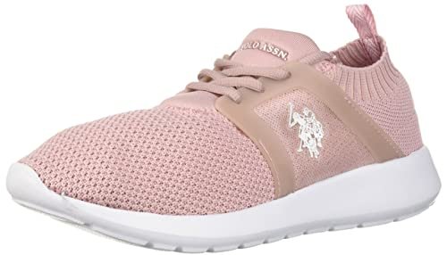 U.S. Polo Assn. - Aeris-k9 Mujer, Rosa (Blush), 38.5 EU: Amazon.es ...