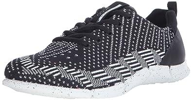 1d6db36a029b Ecco ECCO INTRINSIC KARMA, Damen Sneakers, Schwarz (BLACK BLACK-WHITE