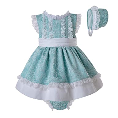 df31c27a8 Amazon.com: Pettigirl Baby Girls Jacquard Dress Shorts Bottom with Bonnet  6-24M: Clothing