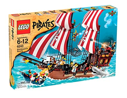 Amazon Lego Pirates Brickbeards Bounty Toys Games