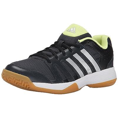 adidas Performance Women's Ligra 3 Volleyball Shoe, Dark Grey/Silver/Frozen Yellow, 12 M US   Volleyball