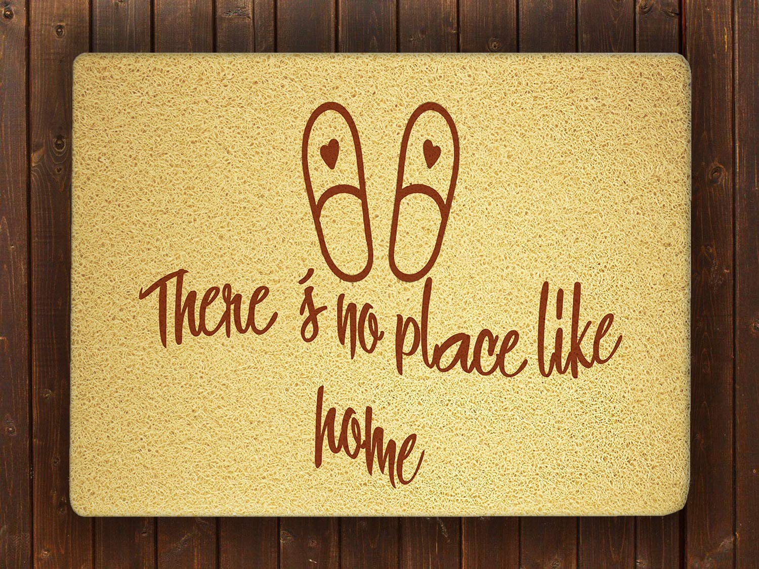 com there s no place like home door mat sweet home