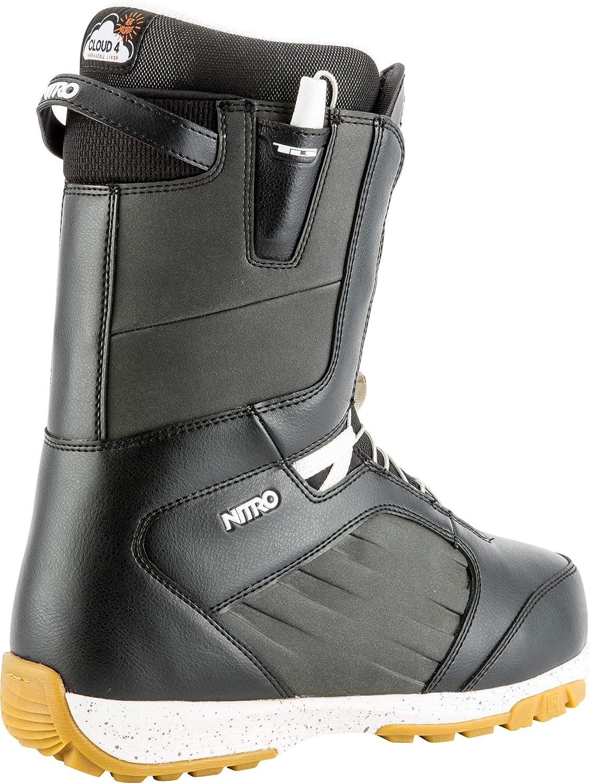 1191-848450 Nitro Snowboards Anthem TLS 19 Chaussures de Snowboard l/ég/ères avec syst/ème de Lacets Rapide Allround Freestyle Freeride Homme