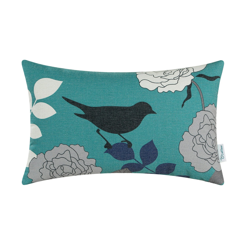 Cushion Covers Cases CaliTime 1 Pack Cushion Throw Pillow Protector Shells for Couch Sofa Bedroom Home Christmas Décor (45cm x 45cm): Amazon.es: Hogar
