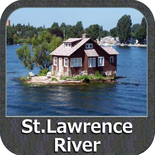 St Lawrence River GPS Map - Rivers Store Locations