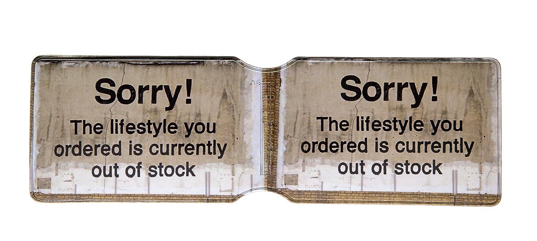 The Lifestyle You Ordered Urbanholder Porte-Cartes Banksy Sorry