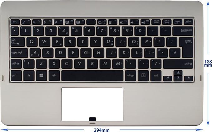 Original New For Asus VivoTab TF810C UK Layout Keyboard C Cover Palmrest