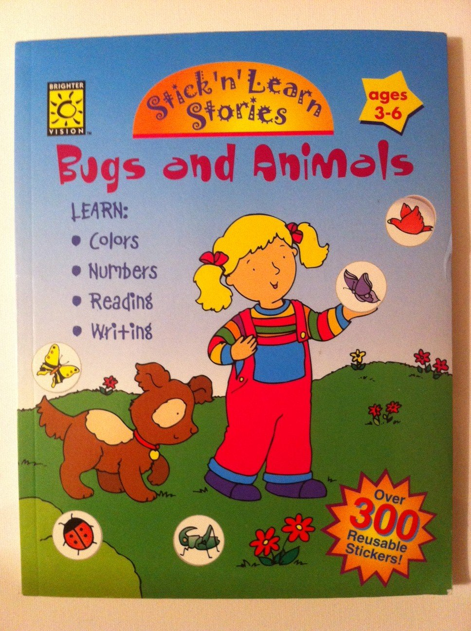 Bugs and Animals (Stick 'N Learn) PDF