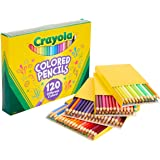 Crayola Colored Pencils, No Repeat Colors, 120 Count, Gift