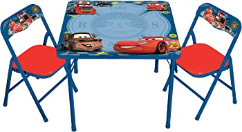 Disney Cars Erasable Activity Table Set with 3 Markers