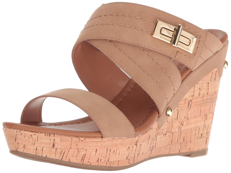 c37fc45cc218 Amazon.com  Tommy Hilfiger Women s Mili Wedge Sandal  Shoes
