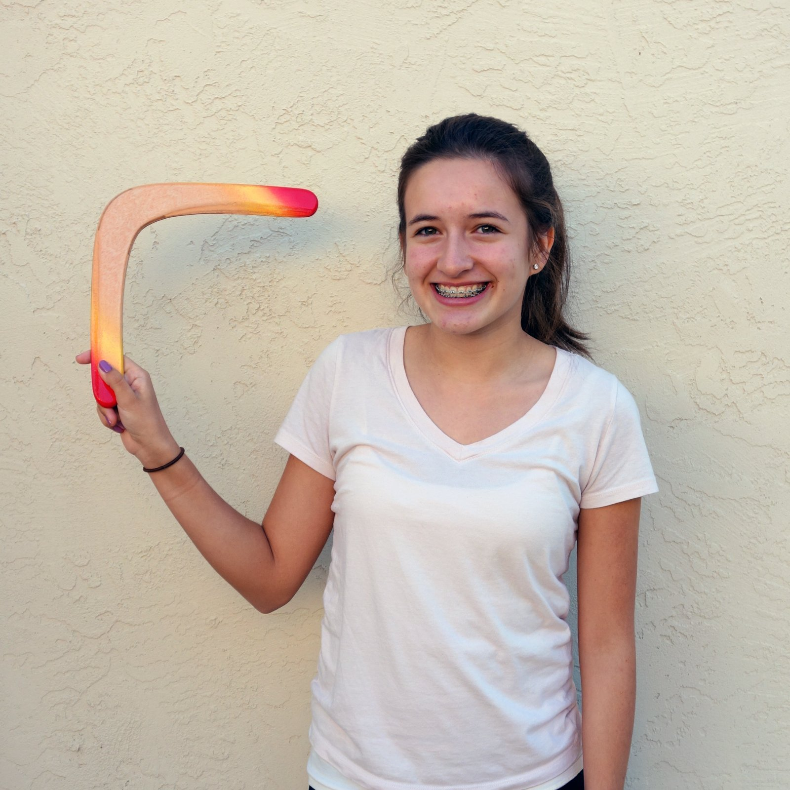 Glacier Wooden Boomerang - For Kids 8-18! Great Returning Boomerangs from Colorado Boomerangs! by Colorado Boomerangs