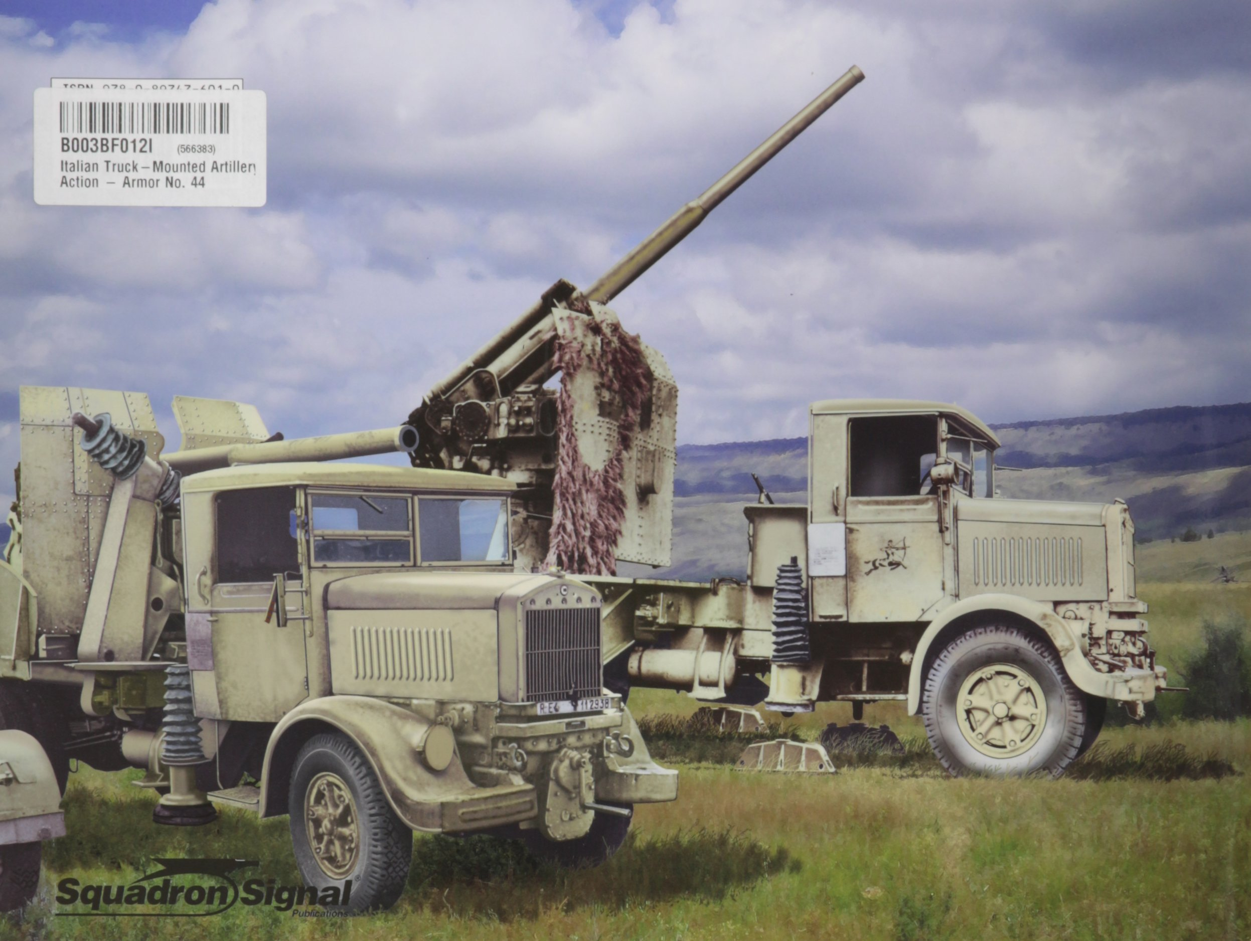 Italian Truck Mounted Artillery in Action: Autocannone (Squadron Signal 2044)
