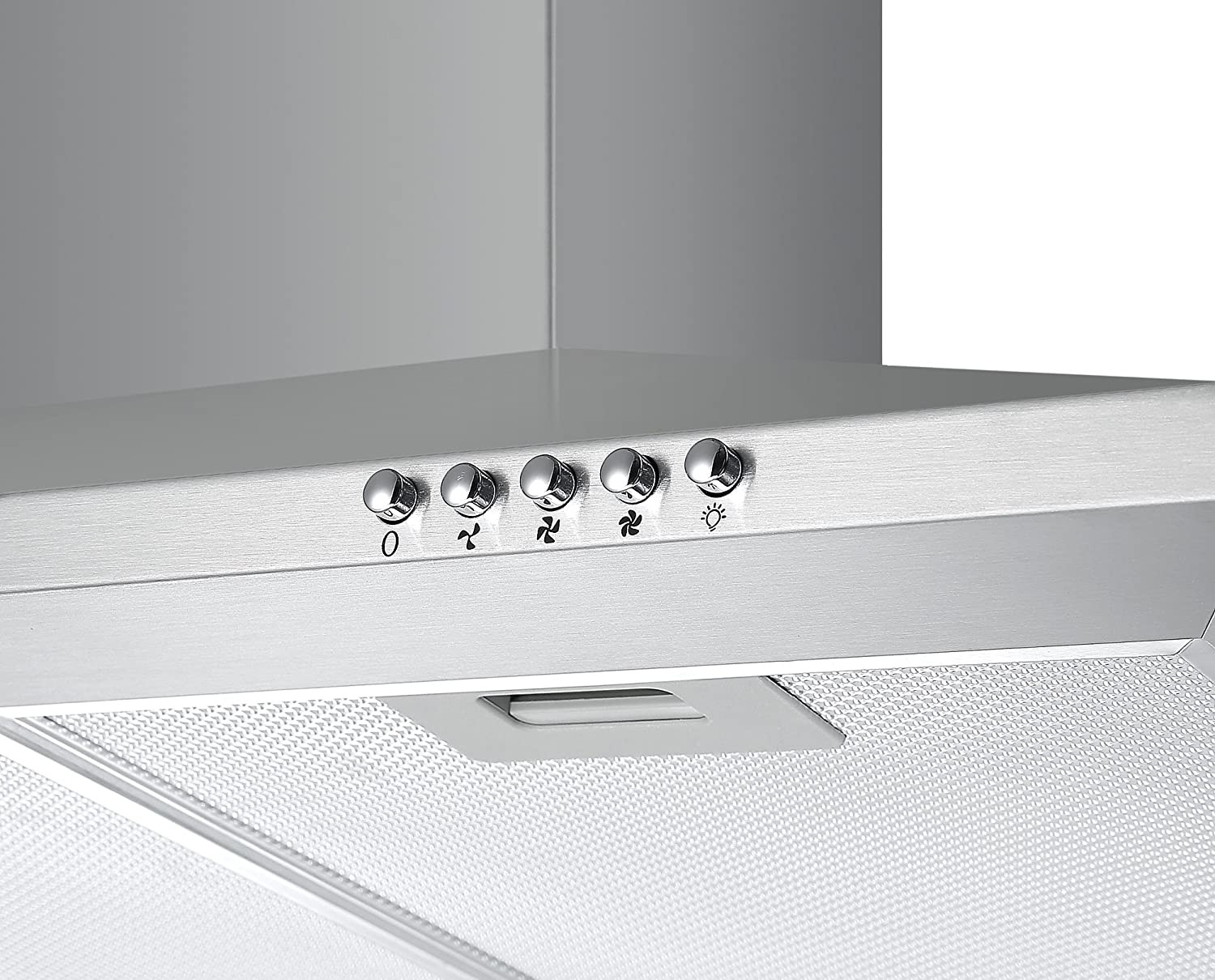 Cookology CH100SS Stainless Steel 100cm Chimney Cooker Hood /& Filters