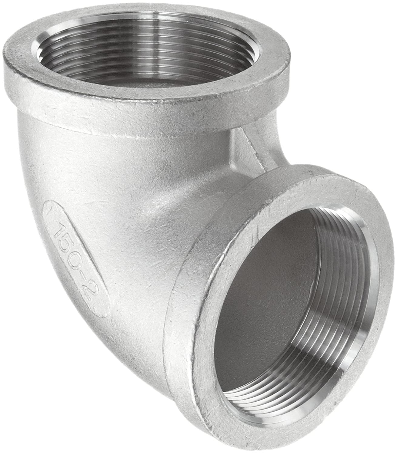 MSS SP-114 1//8 NPT Female 45 Degree Elbow Stainless Steel 316 Cast Pipe Fitting