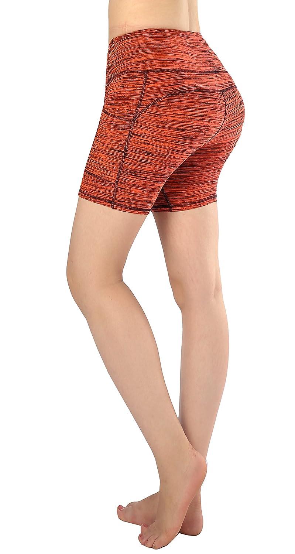 37 Medium Sugar Pocket Women's Workout Leggings Running Tights Yoga Pants Red