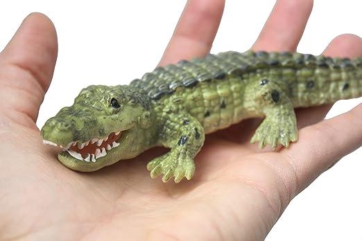 Croco crocodile toy felting alligator real frighten predator halloween green crocodile toys fantasy felted animals