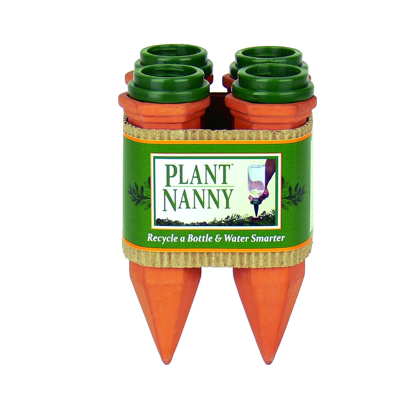 Plant Nanny 6053 4 Count Reciclar una Botella de plástico Juego ...