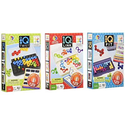 SmartGames IQ 3-Pack - IQ Twist, IQ Fit, IQ Link: Toys & Games