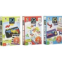 SmartGames Juego de Lógica Set Iq, Fit, Link, Twist