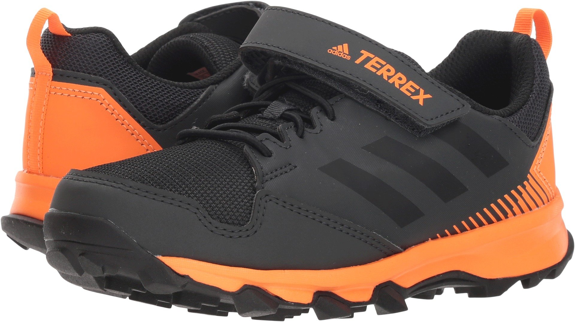 adidas Outdoor Kids Boy's Terrex Tracerocker CF (Little Kid/Big Kid) Black/Black/Black 4.5 M US Big Kid M