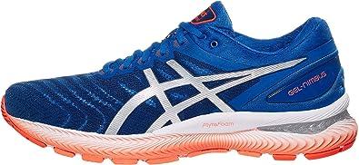 ASICS Gel-Nimbus 22 - Zapatillas de correr para hombre, Azul (Azul atún/plata pura.), 46 EU: Amazon.es: Zapatos y complementos