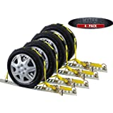 "Mytee Products (4 Pack) Over The Tire Wheel Strap w/E-Track Fittings 2"" x 10'"