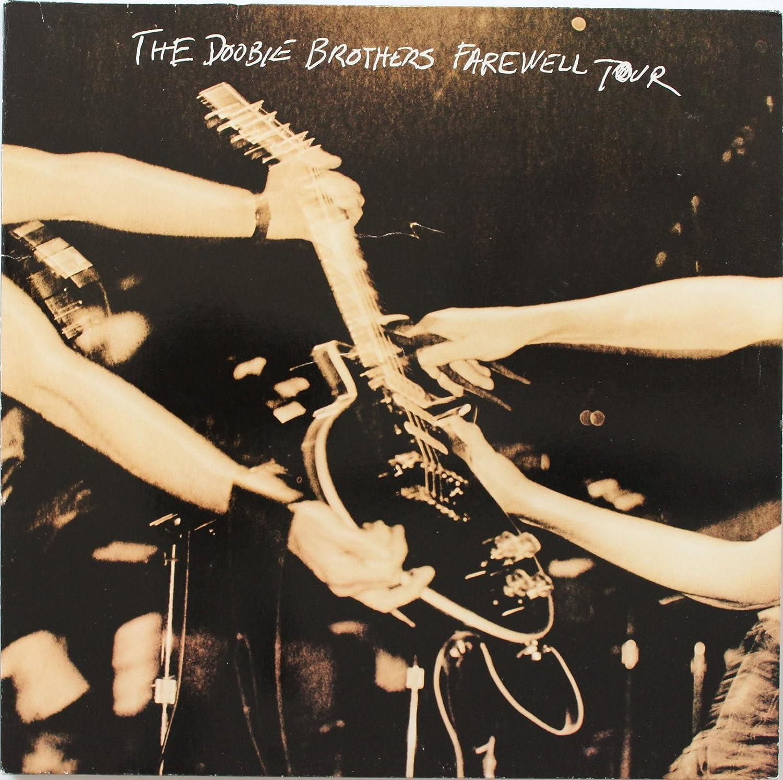 The Doobie Brothers Farewell Tour LP Flat Promo 12x12 Poster