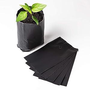 Nursery Pots Plant Grow Bags 15 pcs Seedling Planter 14/35?m (5.5