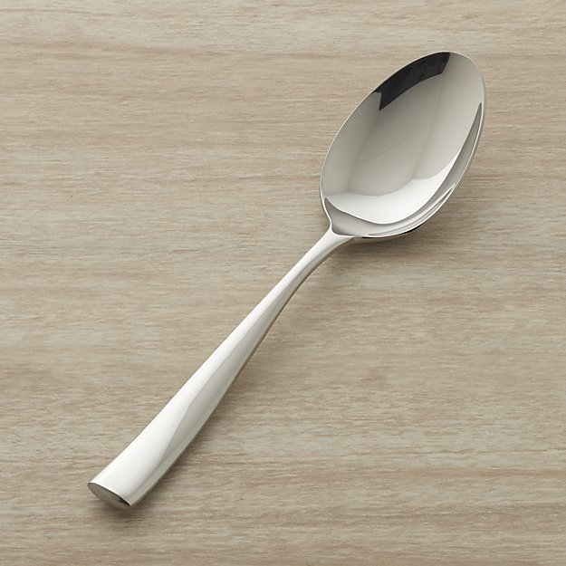 Couture Serving Spoon | Crate and Barrel