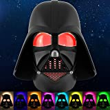 Star Wars Darth Vader LED Night Light, Color Changing, Collector's Edition, Dusk-to-Dawn Sensor, Plug-in, Disney, Galaxy, Ide