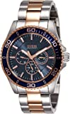 Guess Analog Navy Blue Dial Men's Watch - W0172G3