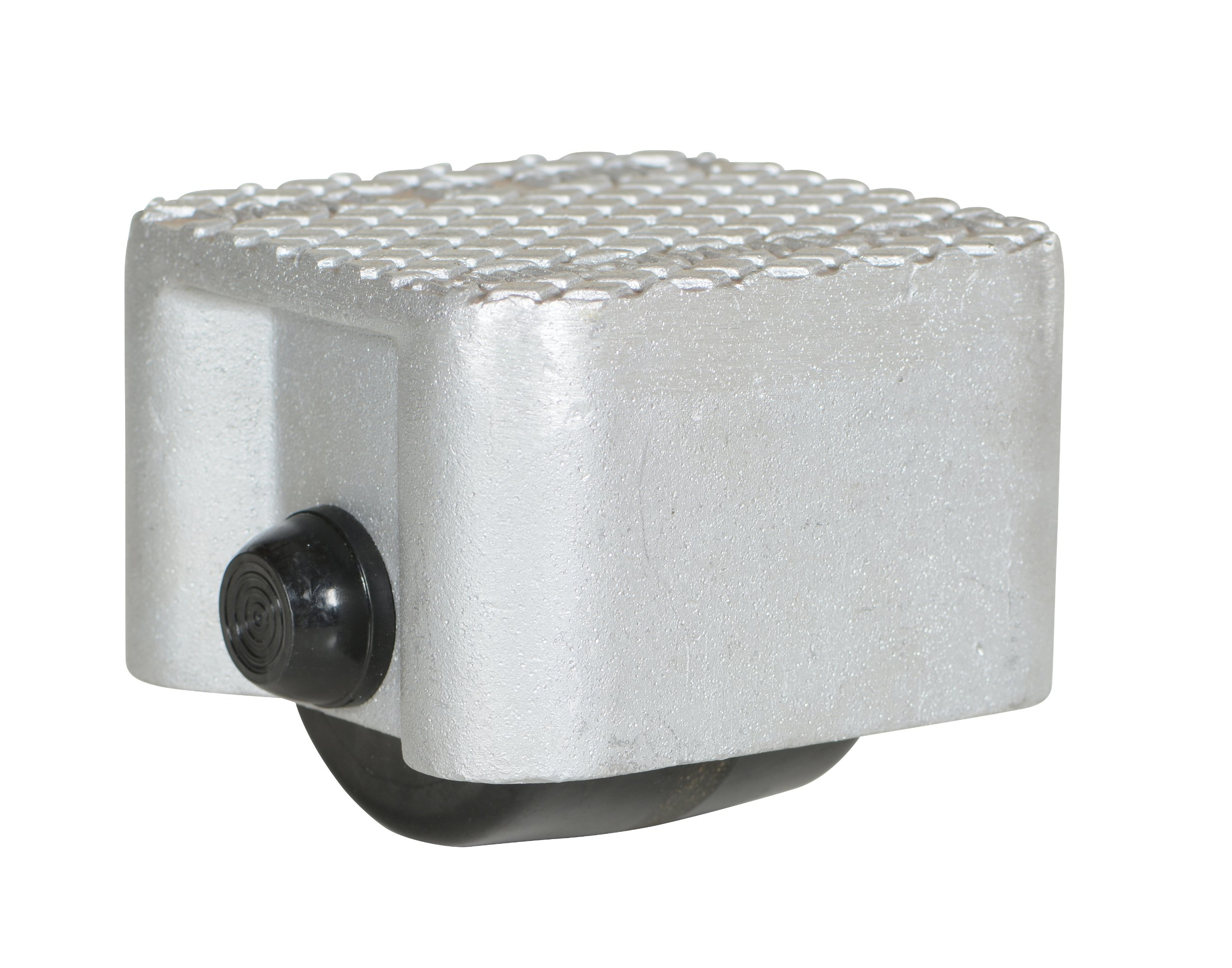 Vestil VPRDO-1 Cast Aluminum Propel Dolly, 1500 lbs Capacity, 4-1/2'' Length x 4-1/2'' Width Deck, 4-1/4'' Overall Height