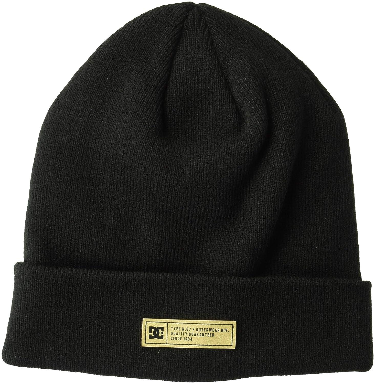DC Shoes Mens Label 2 Beanie Beanie Hat