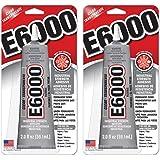 E6000 237032 Multipurpose PXJEAE Adhesive, 2 fl oz Clear (Pack of 2)