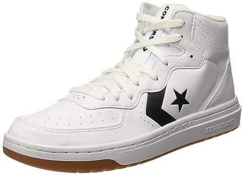 Manga Mandíbula de la muerte Competir  Buy Converse Unisex Adult White Sneakers-11 UK (44 EU) (164890C) at  Amazon.in