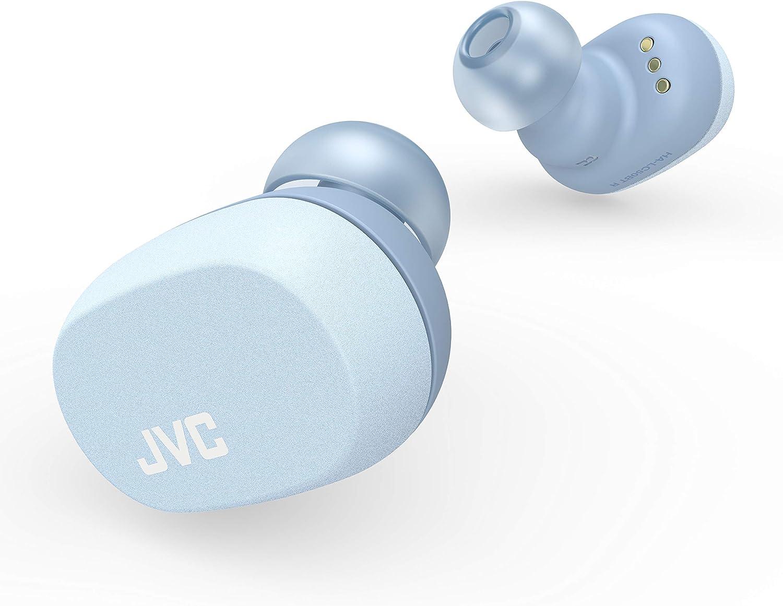 JVC HA-LC50BT N_Wシリーズ 完全ワイヤレスイヤホン Bluetooth対応/小型軽量ボディ/最大16.5時間再生 チャコールブラック HA-LC50BT-B