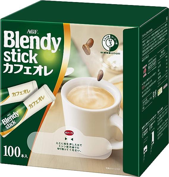 AGFブレンディスティックカフェオレ100本【スティックコーヒー】
