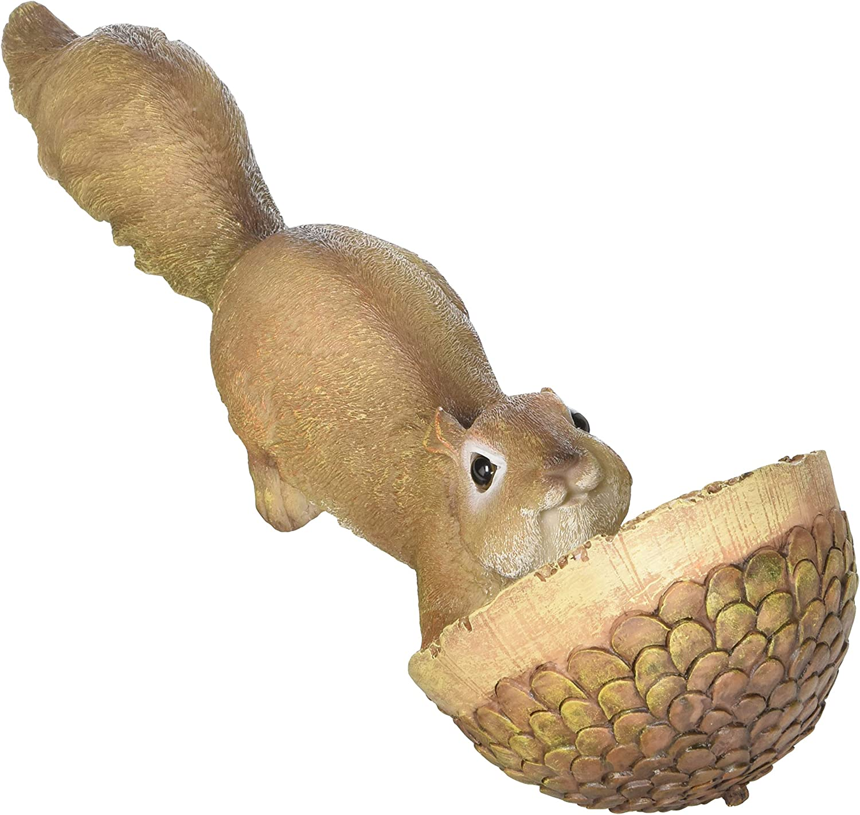 Koehler Home Decor Scurrying Squirrel Birdfeeder