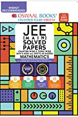 Oswaal JEE Main Solved Papers Chapterwise & Topicwise (2019 & 2020 All shifts 32 Papers) Mathematics Book (For 2021 Exam) Kindle Edition