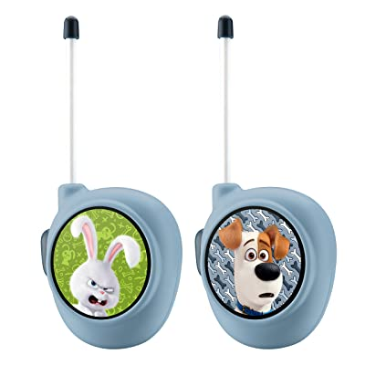 Secret Life of Pets Character Walkie Talkies Playset: Toys & Games